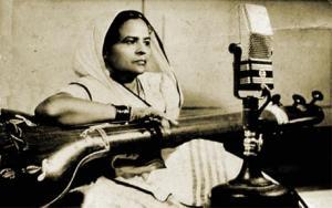 Rasoolan Bai was a courtesan famous for her thumri.