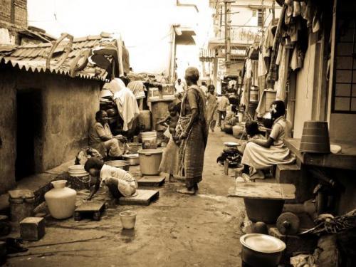 A slum in Bangalore. Source: SFLC. For representation purpose only.