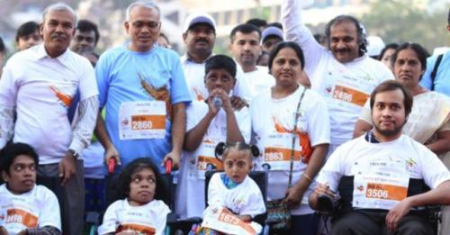 Persons and families living with rare diseases at a recent awareness event . Source: ORDI
