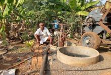 Irappa Saugli grows 80 types of crops on his organic farm thanks to recharged borewell.